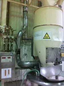 Ventilation de bâtiment industriel